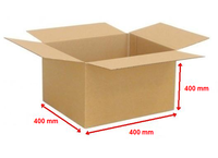 Kartonová krabice 400x400x400mm (25ks)