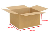 Kartonová krabice 500x200x200mm (25ks)
