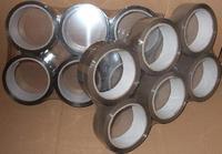 Lepící páska PP hnědá - 38mm/66m (6 ks)