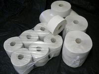 Toaletní papír JUMBO šedý 19 cm, 6ks