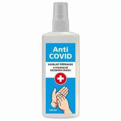 Dezinfekční roztok, na ruce, rozprašovač, Anti-COVID, 125 ml - 1
