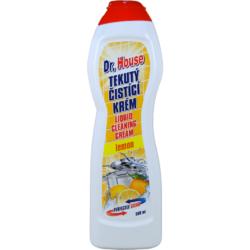 Dr. House tekutý čistící krém citron 500 ml