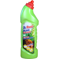 Dr. House WC čistič fresh pine NEW 750 ml