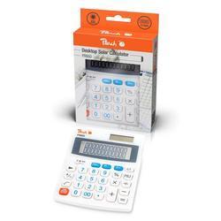 Kalkulačka Peach, PR660, bílá