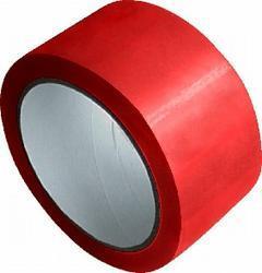 Lepící páska PP červená - 48mm/66m