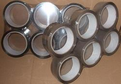 Lepící páska PP hnědá - 19mm/66m (6 ks)
