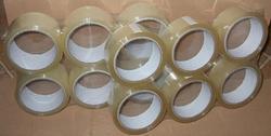 Lepící páska PP průhledná - 25mm/66m (6 ks)