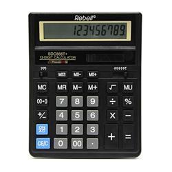 Kalkulačka Rebell SDC888T, černá - 1