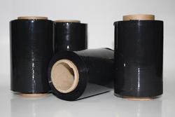 Stretch fólie GRANAT - černá 10cm