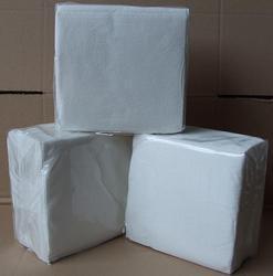 Ubrousky 1-vrstvé, 33x33, bílé 100ks