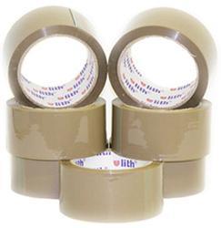 Lepící páska ULITH hnědá 48mm / 66m, (6ks)