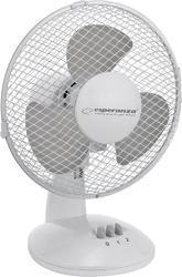 ZEPHYR stolní ventilátor, bílo-šedý