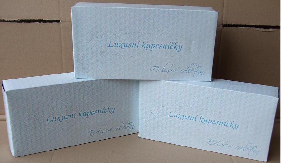 Kapesníky papírové BOX