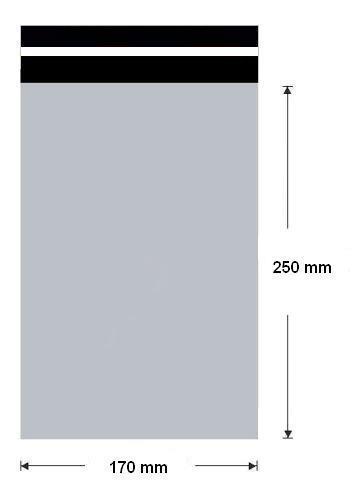 Plastová obálka 170x250