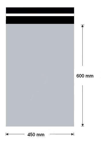 Plastová obálka 450x600