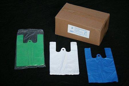 Mikroténová taška MINI zelená 16*30cm 100ks