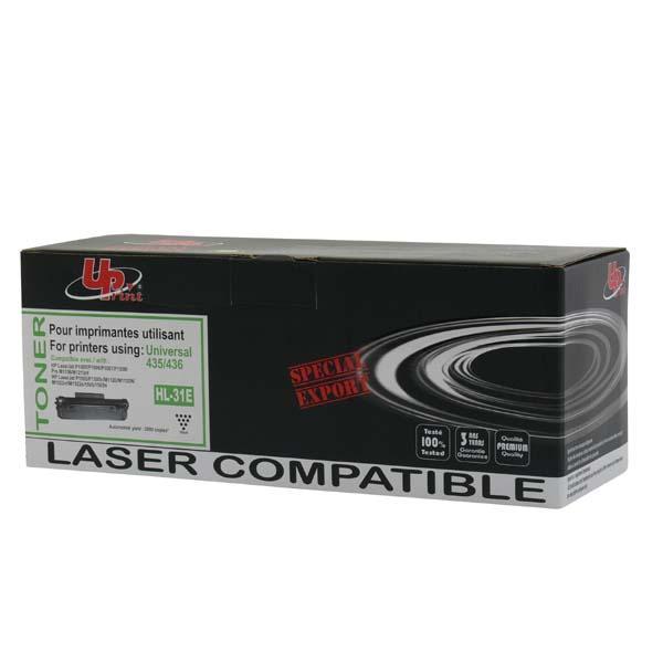 Kompatibilní toner s CB436A, černý, 2000str., H.35/36AE, HL-31E